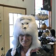 Artic Fox Head Hat $600