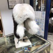 Blue Fox With Black Beaver $325