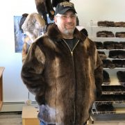 Otter Coat With Sheared Beaver Lining 2