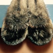 Otter Toes With Beaver Trim $125
