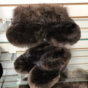 Sheared Beaver Toes With Beaver Trim $125 (2)