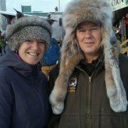 Silver Fox Headband Lynx Mountain Man