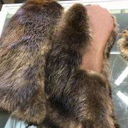 Beaver Musher Mitt With Sheep Skin Lining $300
