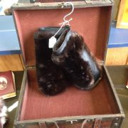 Otter Mittens With Shear Beaver Lining $250